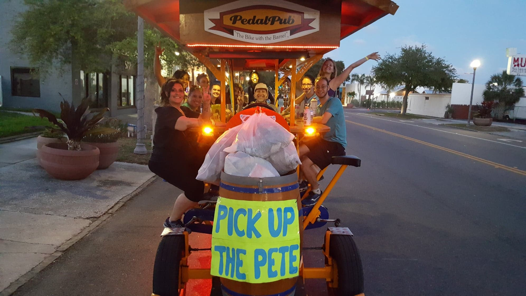 Who Says You Cant Do Good And Have Fun Pedalpub St Petersburg