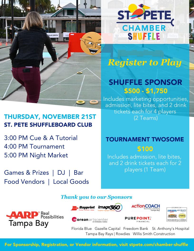 Shuffleboard Event on Thursday November 21st